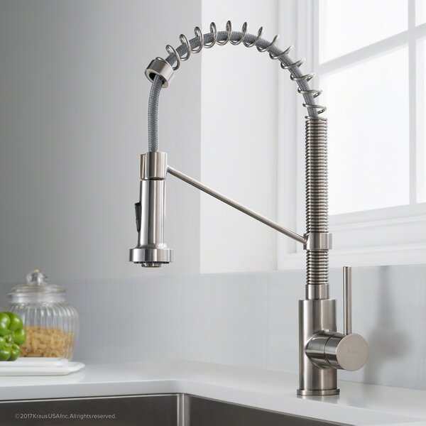 Bolden™ Series Single Handle Pull Out Kitchen Faucet by Kraus
