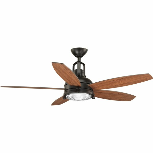 Gehlert 5 Blade LED Ceiling Fan with Remote by Ivy Bronx