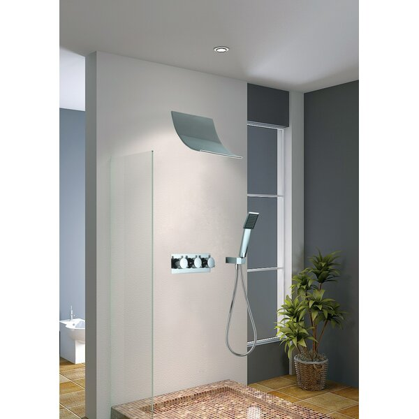 Contemporary/Modern Handheld Complete Shower System by Sumerain International Group