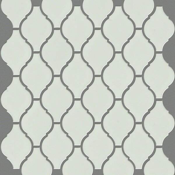 Sophisticated 2.8 x 2.8 Porcelain Mosaic Tile in Biscuit by Shaw Floors