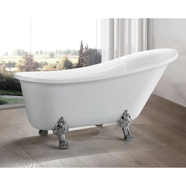 69 x 30 Freestanding Soaking Bathtub by Vanity Art