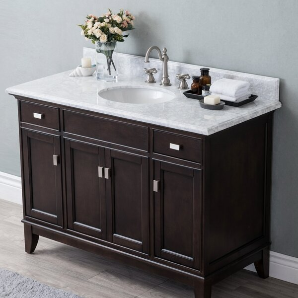 Hysell 48 Single Bathroom Vanity Set by Latitude Run