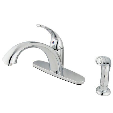 Vintage Single Handle Centerset Kitchen Faucet by Elements of Design Elements of Design