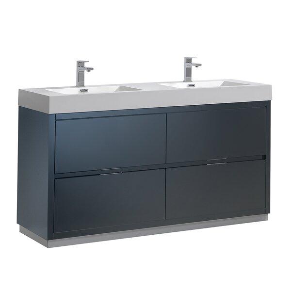 Senza Valencia 60 Double Bathroom Vanity Set by Fresca