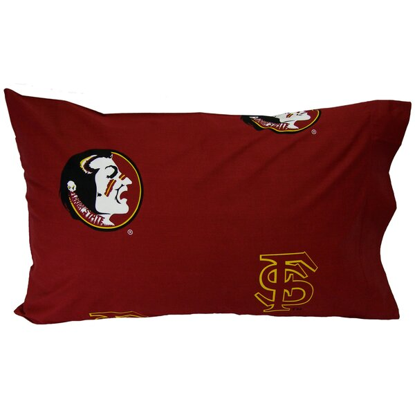 NCAA Florida State Seminoles Pillowcase (Set of 2) by College Covers