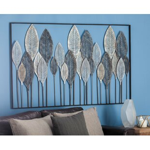 Charming Metal Leaf Wall Décor
