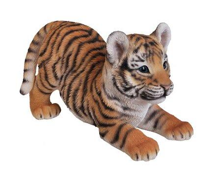 Playing Tiger Cub Figurine by Hi-Line Gift Ltd.