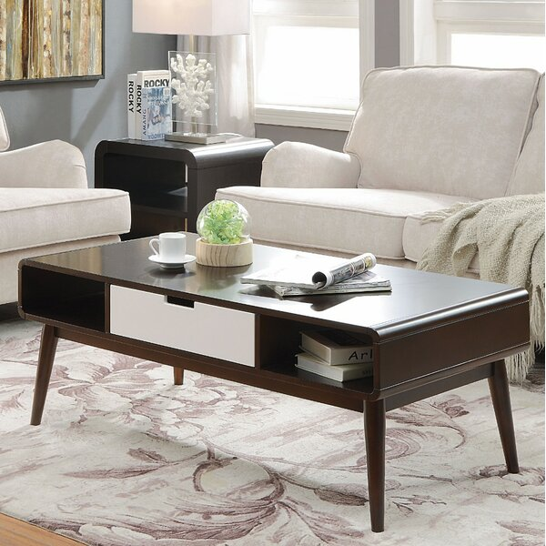 Duppstadt Coffee Table with Storage by Corrigan Studio
