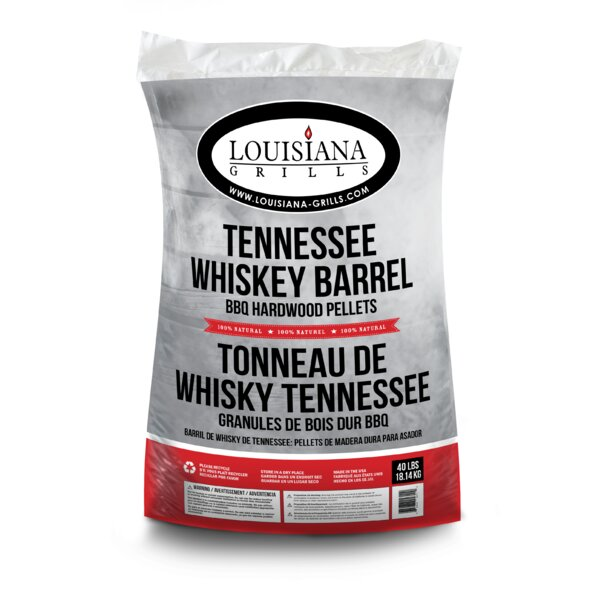 All Natural Hardwood Pellets - Tennessee Whiskey B