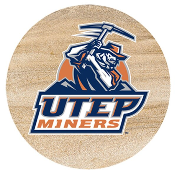 University of Texas El Paso Collegiate Coaster (Set of 4) by Thirstystone