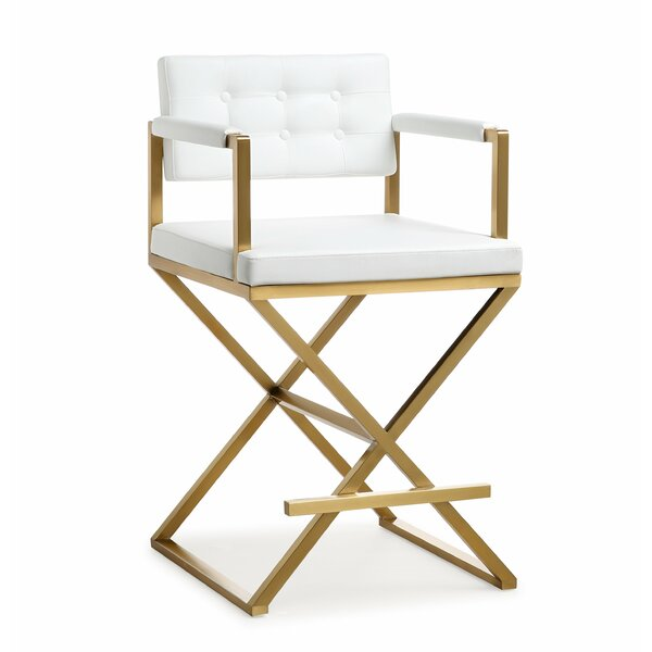 Laurenza Steel Bar Stool by Willa Arlo InteriorsLaurenza Steel Bar Stool by Willa Arlo Interiors