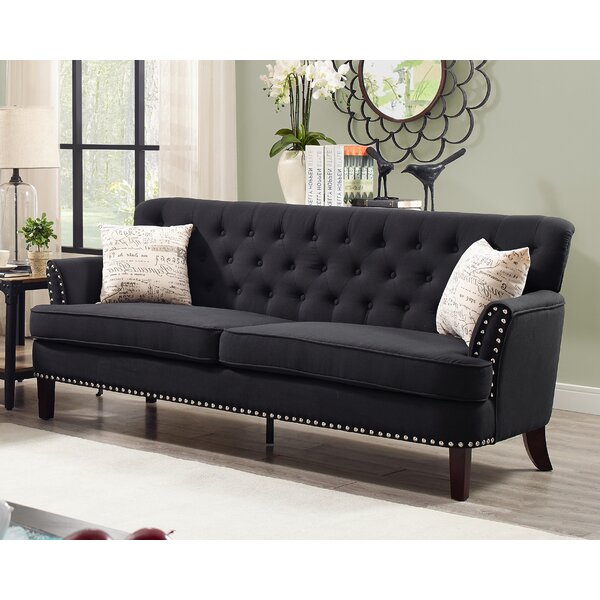 Nice Quayle Chesterfield Sofa by Canora Grey by Canora Grey