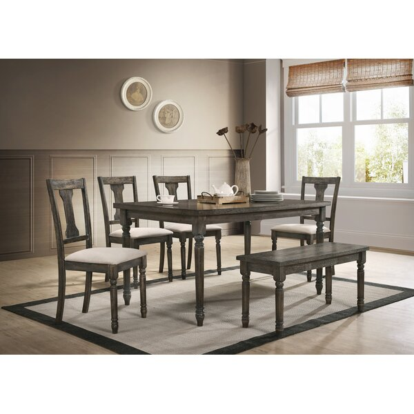 Neal 6 Piece Dining Set by Gracie Oaks