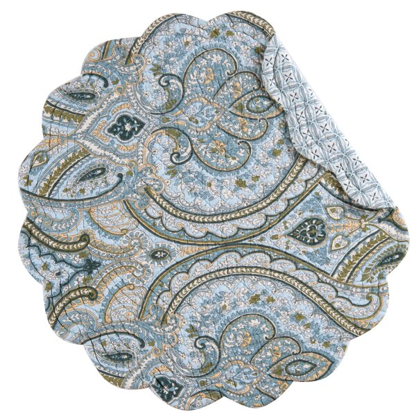 Willowbrook Round Placemat (Set of 6) by Three Posts