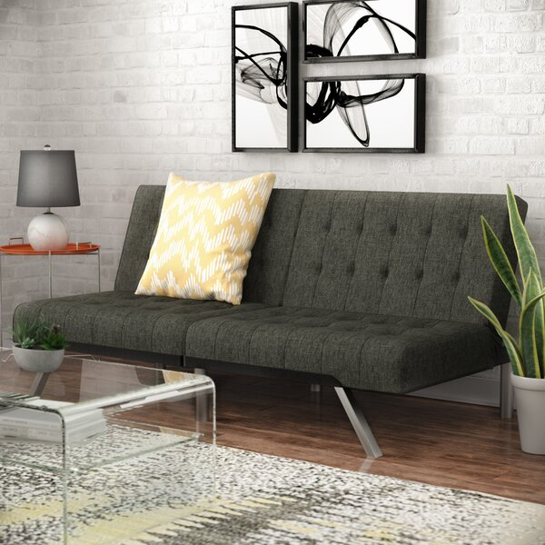 Littrell Convertible Sofa by Wade Logan