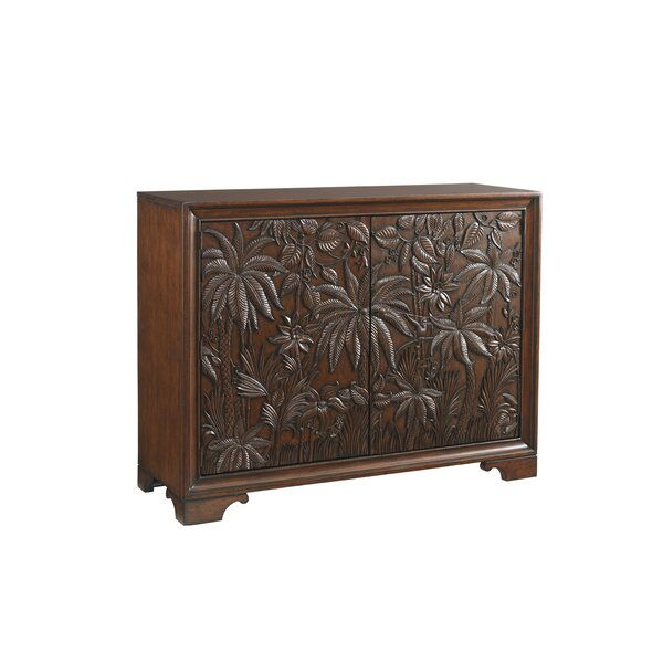 Landara Balboa 2 Drawer Carved Door Accent Cabinet by Tommy Bahama Home Tommy Bahama Home