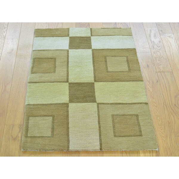 One-of-a-Kind Beverly Hand-Knotted Wool Area Rug by Isabelline