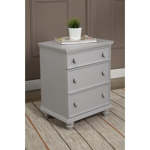 Tradewinds 3 Drawer Nightstand by Longshore Tides