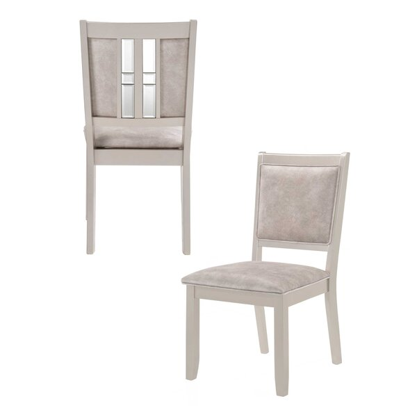 Mccasland Upholstered Dining Chair (Set of 2) by House of Hampton House of Hampton