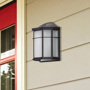 Reviews Melrose 1-Light Outdoor Wall Lantern By Globe Electric Company