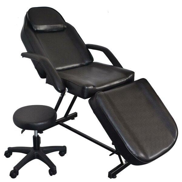Review Portable Adjustable Tattoo Reclining Full Body Massage Chair