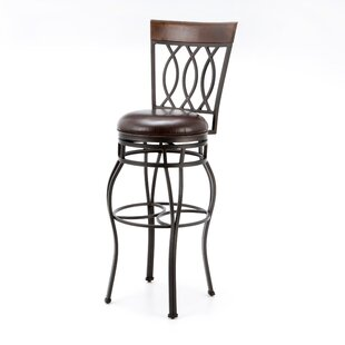 Gilman 34 Swivel Bar Stool by Darby Home Co