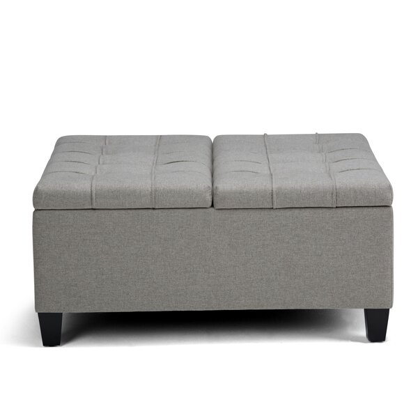 Halvorsen Tufted Storage Ottoman by George Oliver