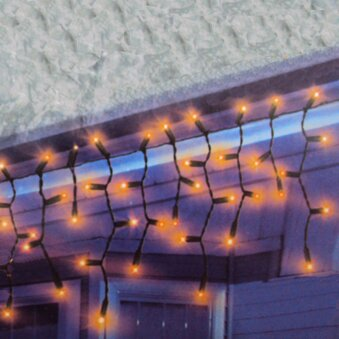 100 Light Icicle Set by The Holiday Aisle