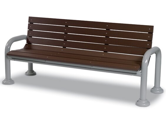 Iron Park Bench by Wabash Valley