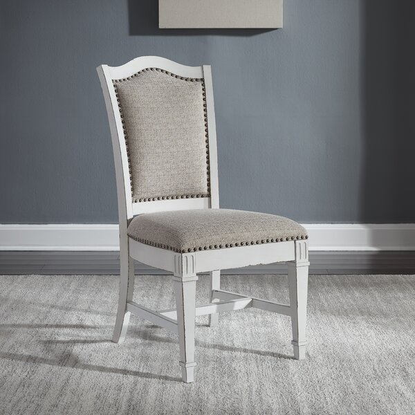 Jersey Upholstered Dining Chair (Set Of 2) By Ophelia & Co.