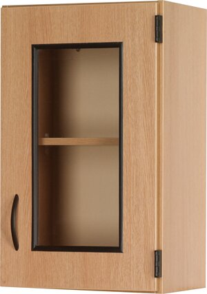 Science 2 Compartment Classroom Cabinet with Doors by Stevens ID Systems