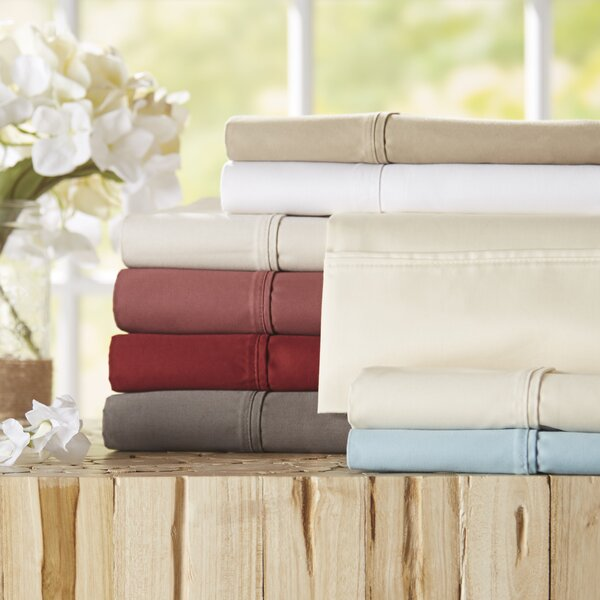 Twain Luxury 1000 Thread Count Cotton Sheet Set by The Twillery Co.