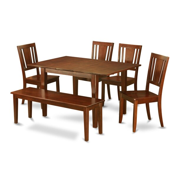 Lorelai 6 Piece Dining Set by Alcott Hill Alcott Hill