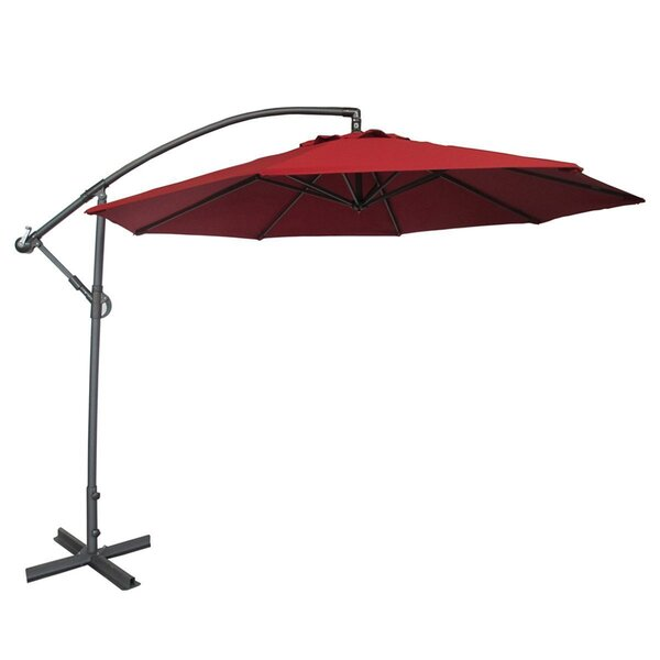 Parthenia 10' Cantilever Umbrella by Freeport Park