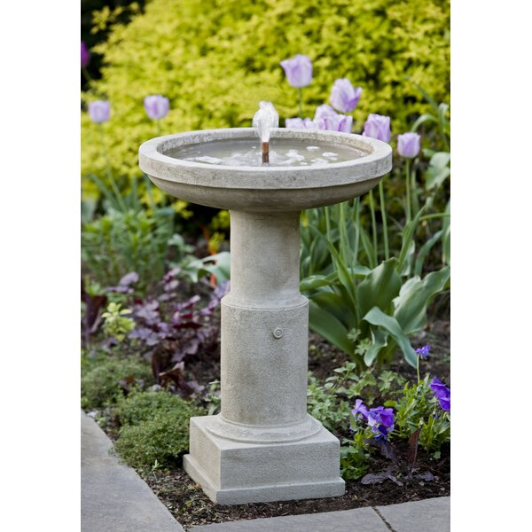 Concrete Powys Fountain by Campania International