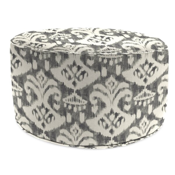 Morey Bead Fill Pouf Ottoman with Cushion by Ebern Designs