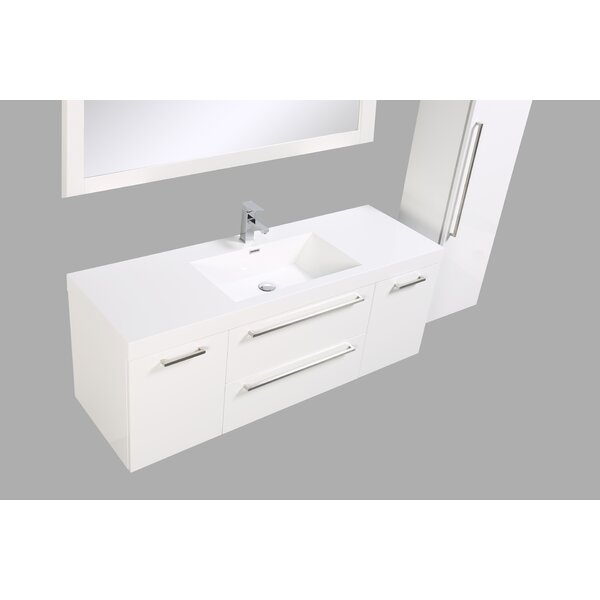 Sandifer 59 Single Bathroom Vanity Set by Orren Ellis