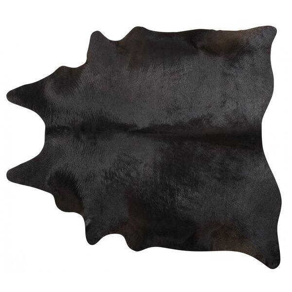 Handmade Black Area Rug by Pergamino