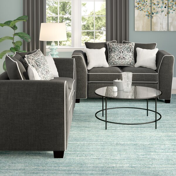 Salyer 2 Piece Living Room Set by Winston Porter