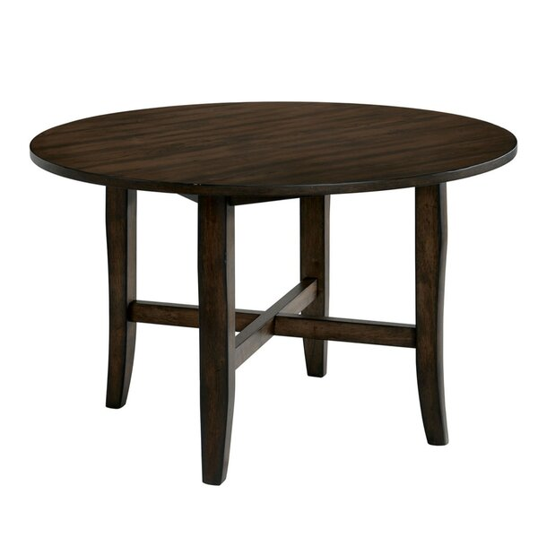 Stainforth Transitional Solid Wood Dining Table by Gracie Oaks