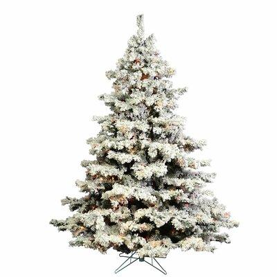 Flocked Christmas Trees You'll Love   Wayfair
