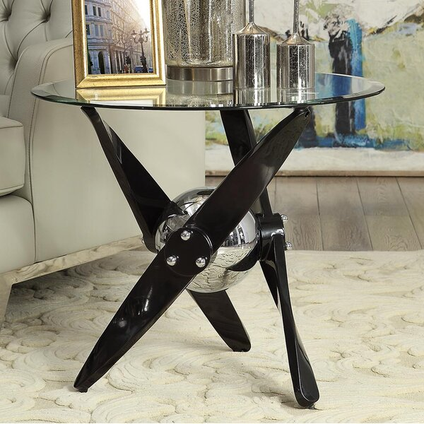 Hartzler End Table by Orren Ellis