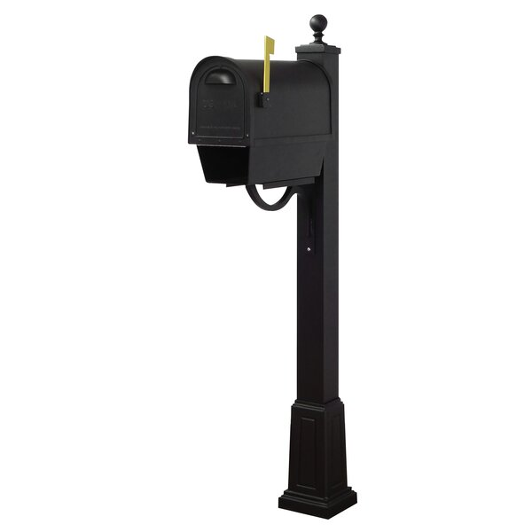 Classic Curbside Mailbox with Springfield Post Included with Base by Special Lite Products