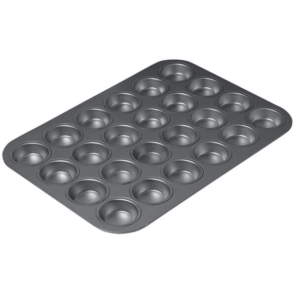 24 Cup Non-Stick Mini Muffin Pan Professional Coating Muffin Pan by Chicago Metallic