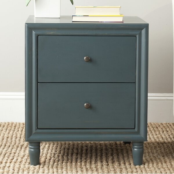 Katalina 2 Drawer Nightstand by Breakwater Bay
