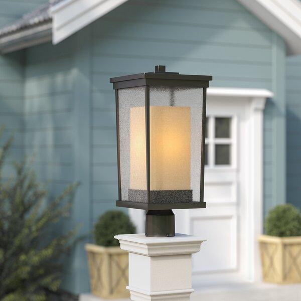 Oakhill 1-Light Oiled Bronze Lantern Head by Charlton Home