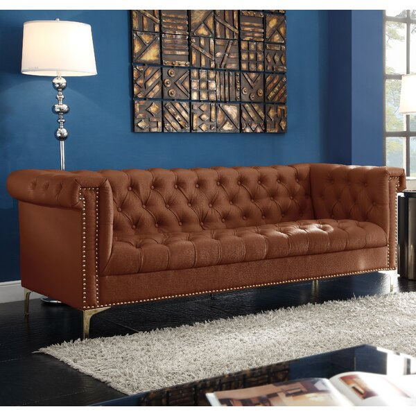 Don't Miss The Stanford Chesterfield Sofa by Darby Home Co by Darby Home Co