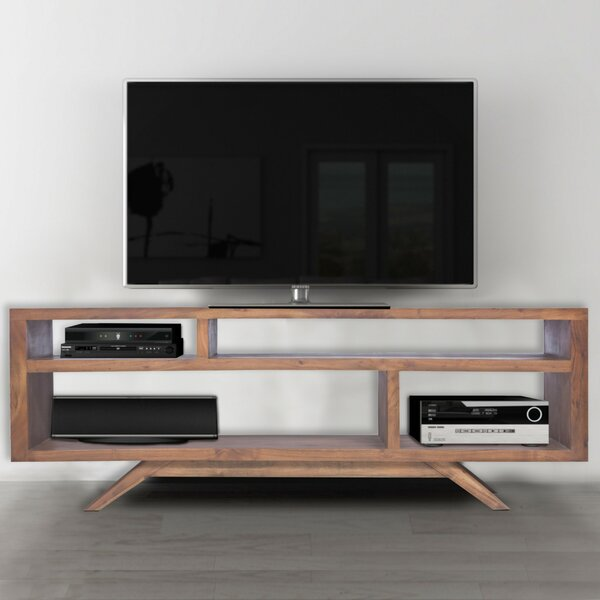 Best Price Beaty Solid Wood TV Stand For TVs Up To 62