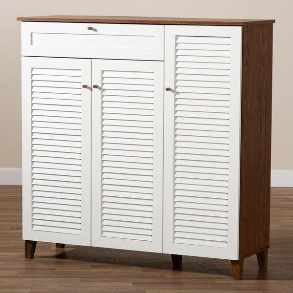 21 Pair Shoe Storage Cabinet