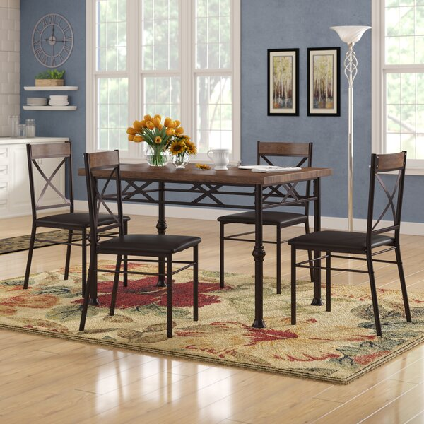 Callimont 5 Piece Dining Set by Red Barrel Studio Red Barrel Studio